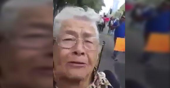 «El Clero y el PRI han dominado al pueblo pendejo de México» – Abuela Revolucionaria